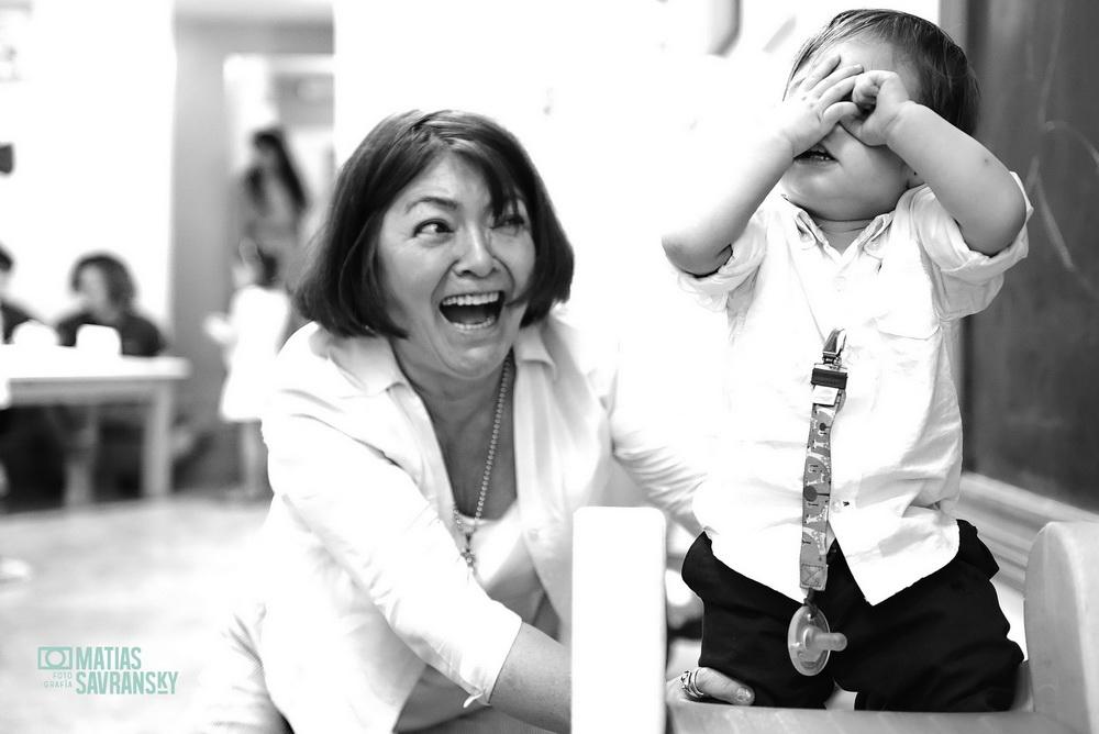 Fotos del Bautismo de Bauti en el salon la festejeria