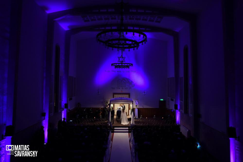 Fotos de casamiento en el Templo comunidad Chalom por Matias Savransky fotografia