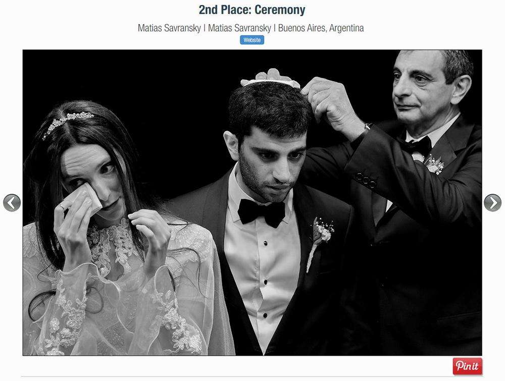 Foto premiada por la ISPWP por Matias Savransky fotografo de bodas Buenos Aires