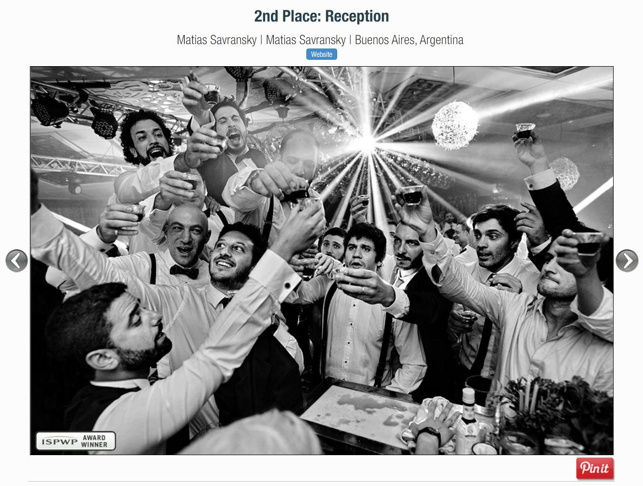 foto boda premiada por la ispwp de matias savransky fotografo buenos aires